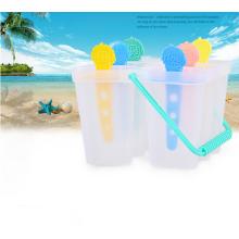 molde plástico casero hecho en casa del hielo del helado sano de la buena calidad para la venta al por mayor