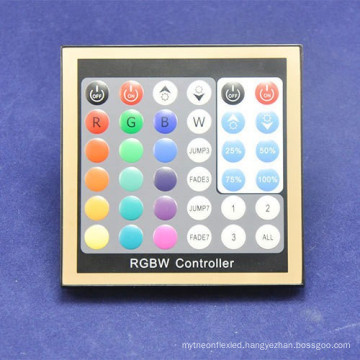 36 key panel design, 40key radio button remote, RGBW led strip panel controller