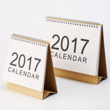 Breve estilo Custom Office Desk Calendar Printing