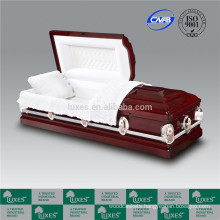 LUXES Cheap Wood Caskets American Caskets Colors Of Caskets For Funeral