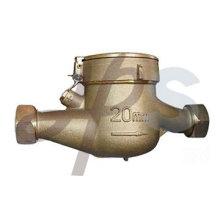medidor de água multi-jet de bronze