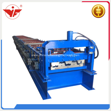 Floor deck making machine