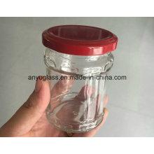 Garrafas de vidro para Pickle, Comida, Armazenamento Jar,