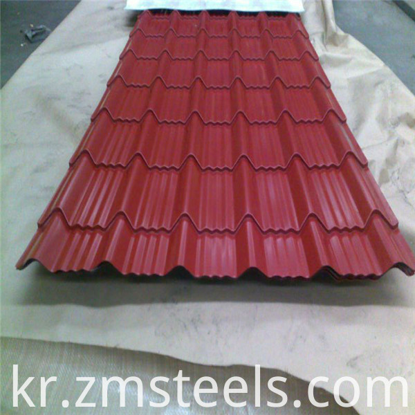 prepainted steel sheet