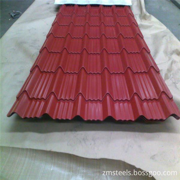 prepainted steel sheets