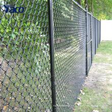 Cercado galvanizado barato del jardín usado Cerca del acoplamiento de cadena diámetro del alambre de 4m m abertura de 50m m