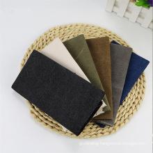 China Manufacturer 10oz 12oz 16oz Grey Fabric 100% Organic canvas Fabric for hometextile