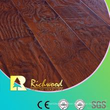12.3mm E1 AC4 Embossed Hand Scraped Oak Waterproof Laminated Floor