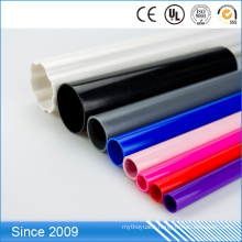 Colorful PVC hard pipes large diameter plastic pipe on sale
