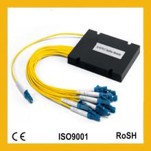 1X8 Single Mode Mini Módulo ABS Cassette Gpon FTTH Fibra Óptica PLC Splitter