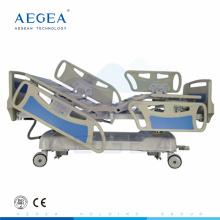 AG-BY009 que pesa cuidado funcional de cinco funciones utilizó la rehabilitación eléctrica fabricante de la cama médico del hospital del icu