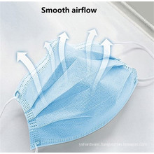 Three-layer Non-woven Protective Non-medical Mask