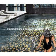Mosaïque de verre Design de motif Mosaïque de piscine (HSP329)