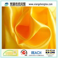 Tissu funéraire 100% polyester satiné pour doublure en coussinet