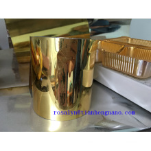 Gold Rigid Pet Film for Biscuit Tray