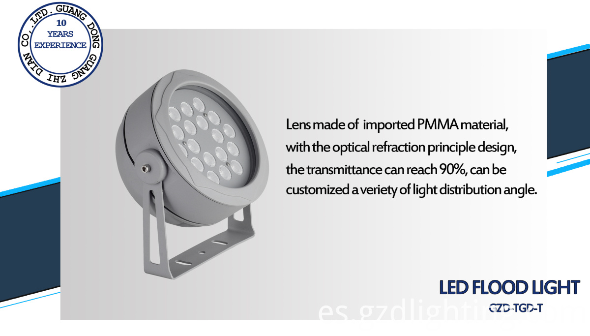 outdoor led projector light