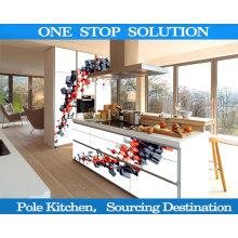 L Form 4D Küchenschränke