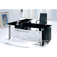 Mobilier de bureau en acier et en verre pour personnes de grande taille P8019