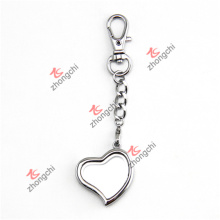 Fashion Metal Lady Bag Pendant Pendentifs Heart Lockets Keychain (CHK50926)