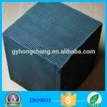 Carbono activado con panal de eliminación de benceno con alto rendimiento