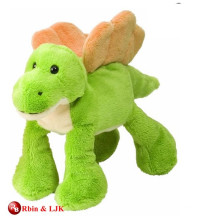 Пользовательские рекламные прекрасный зеленый динозавр плюшевые игрушки