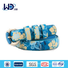 Fancy Printed PU Lady Dress Belts