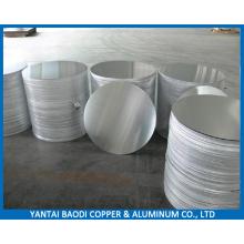 1050 1060 1100 3003 Círculo de aluminio laminado en caliente de dibujo profundo para utensilios de cocina