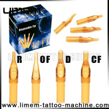 The professional high quality newest Plastic Disposable Tattoo Tips
