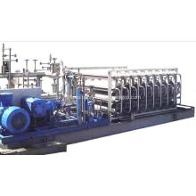 Vaporizadores de construcción de presión con aletas de tubo