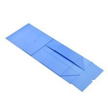 Good User Reputation for Foldable Rectangle Gift Box Magnetic flat light blue paper box export to Germany Exporter