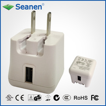5VDC 2A White Color Travel Charger with Us/UL/cUL AC Pin