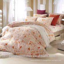 100% microfiber полиэфира почищенное щеткой одеяло ткани с высоким качеством