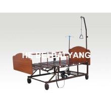 (A-185) Lit électrique infirmier multifonctionnel à domicile