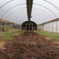 Gewächshausrohr aus Industriehanf für landwirtschaftliche Einzelspanntunnel Blackout Gewächshausfolie