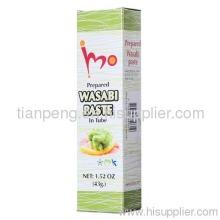 Estilo japonês pasta de Wasabi Horseradish