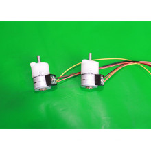 15BYHJ geared pm stepper motor/ step angle 18° with POM gearbox