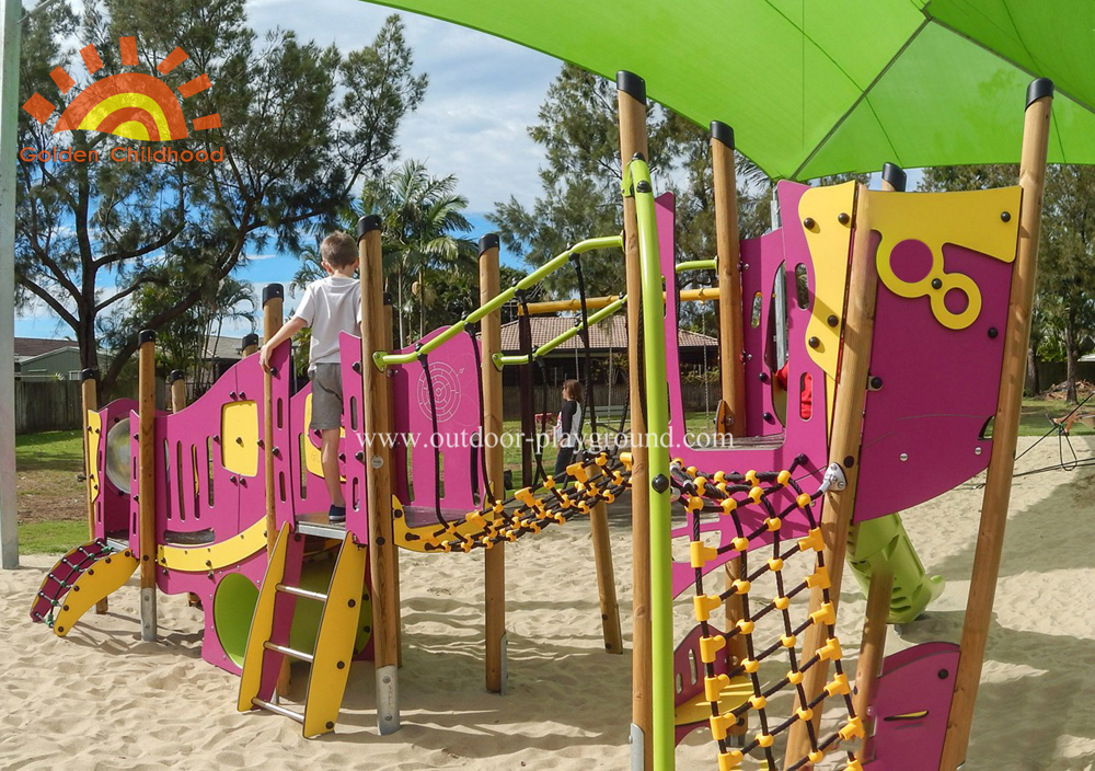 Park Slide Kids Playground Outdoor
