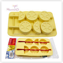 Kundengebundene Popsicle-Eis-Form, Silikon-Eis-Würfel-Behälter