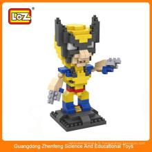 LOZ 9459 carcajous plastique action figure construction bloc éducatif jouet