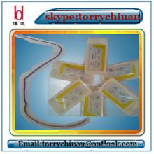 Boda Absorbabl простой кетгут с одноразовым шовным материалом для игл, медицинские материалы для швов и швов, 3 # 75