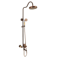 G082 Traditional design Shower faucets with bronze plated, brass faucet bathroom mixer and shower head