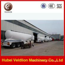 V Form 3 Achsen 60 Tonnen Zement Pulver Tankauflieger