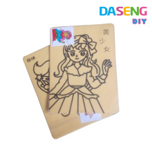 supply high quality diy paper craft sand painting cartoons