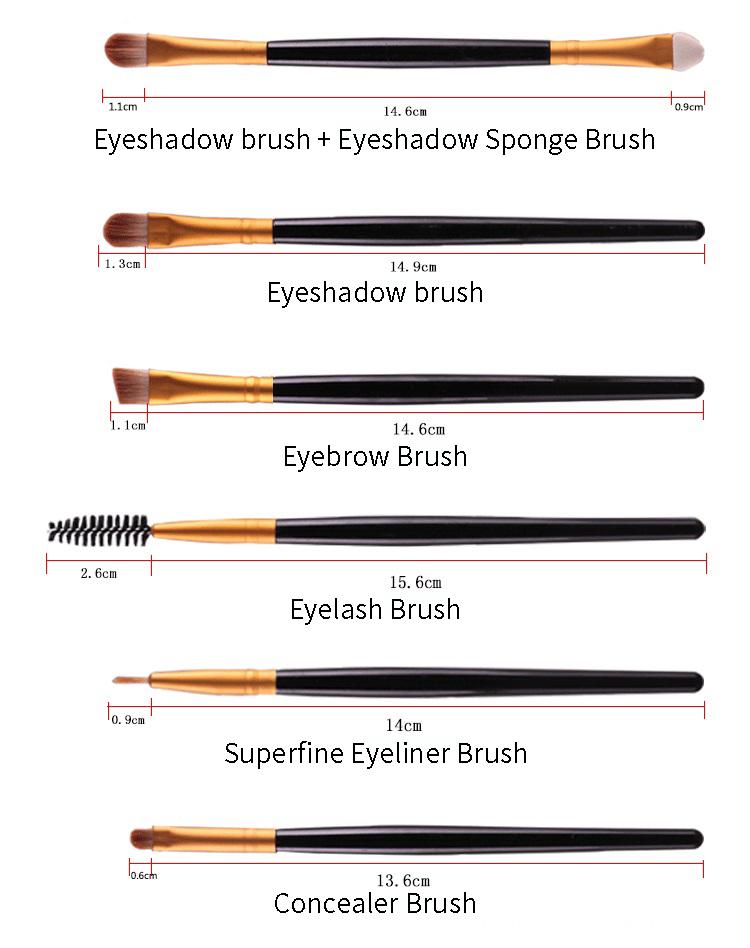 20 Piece Makeup Brush Set
