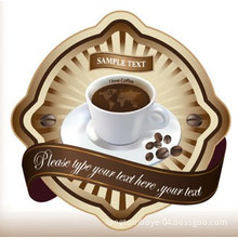 Customized Coffee Self-Adhesive Label Stick