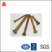 Top quality low price copper fasteners tapping wood screw