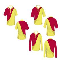 Mejor Calidad Nuevo Diseño Sublimated Australian Cricket Team Jersey 2016