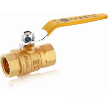 J239 Brass Natural Gas Ball Valve, NPT Threaded, Lever Hand