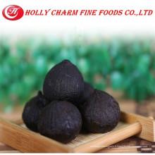 2016 vente en gros d'aliments hypotensifs fermentés pelés solo ail noir