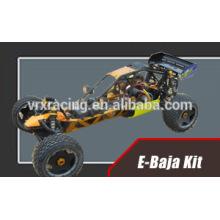 Kit de conversão de aja com 150A ESC e 580L motor sem escova de tamanho em dois sentidos